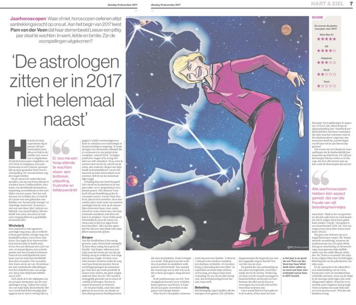 Horoscopen, Nine Star Ki, voorspelling, persoonlijk